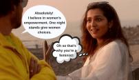 feminist Indian man