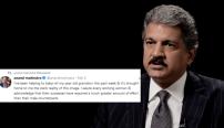 Anand Mahindra tweet