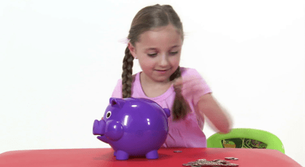 teaching daughters about money