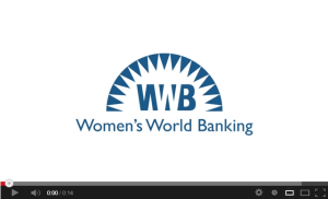 The evolution of the Women's World Banking Logo