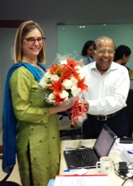 CJ is welcomed to the Ujjivan board in March 2013