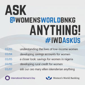 Ask Women's World Banking Anything!