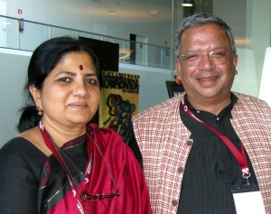 Samit Ghosh with Vinatha Reddy