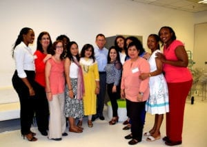 High-potential women leaders participating in our Women in Leadership Program
