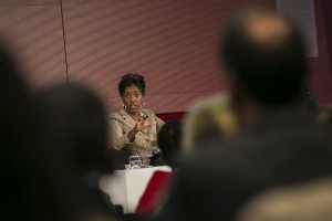 Deborah Mallowah during the Targeting the New Growth Segment: Women Panel
