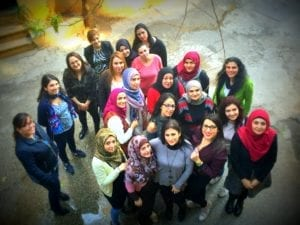 Women staff at Al Majmoua