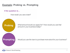 What is the difference between probing and prompting in research?