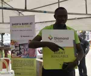 Kayode Olubiyi at the Diamond Closa launch