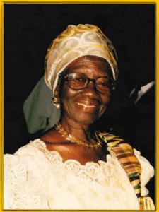Esther Ocloo in the 1990s