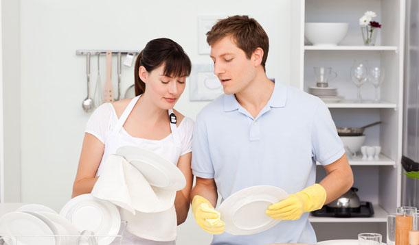 Top tips to make your partner help you in the household chores