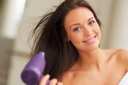 How to blow dry your hair without damaging it