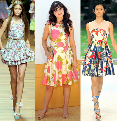 Where and how to wear floral print