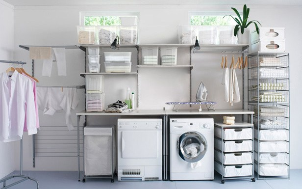 Utility room storage ideas