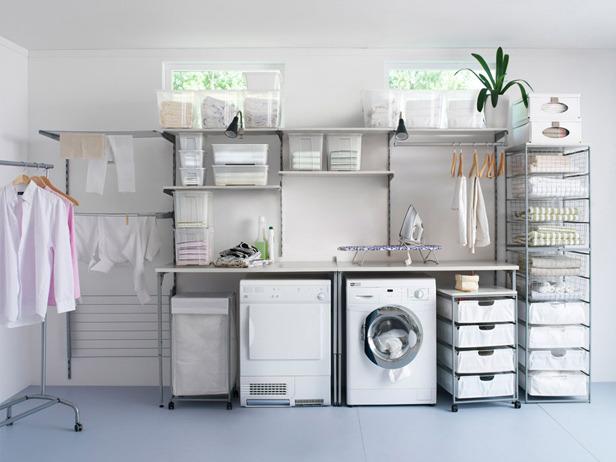 Utility room storage ideas