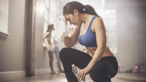 vigorous workout will harm