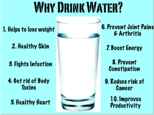 Water for a healthy lifestyle