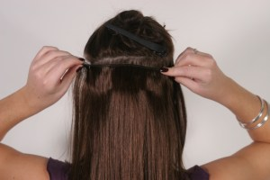 Clip – in hair extension