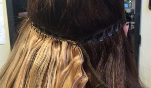 Weave hair extension