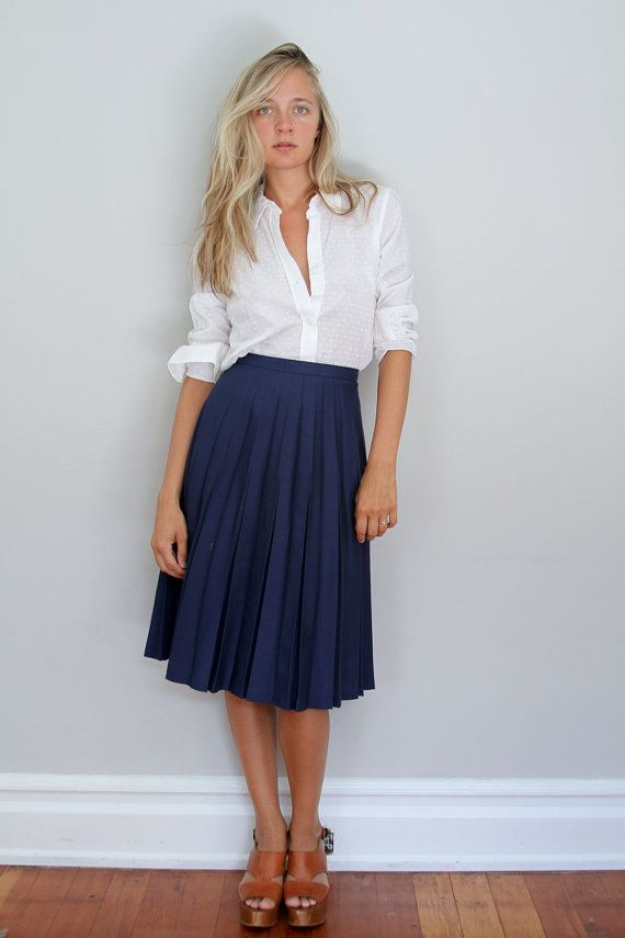 white shirt with skirt