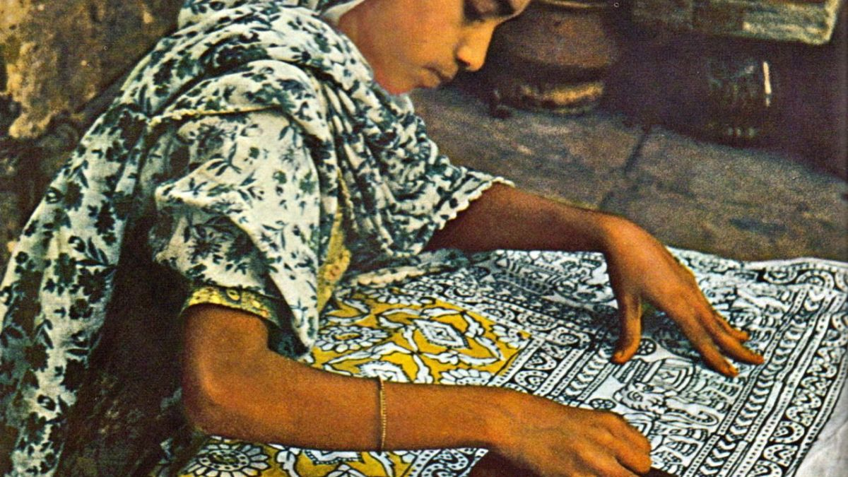The Joy of Wearing Woodblock Prints!