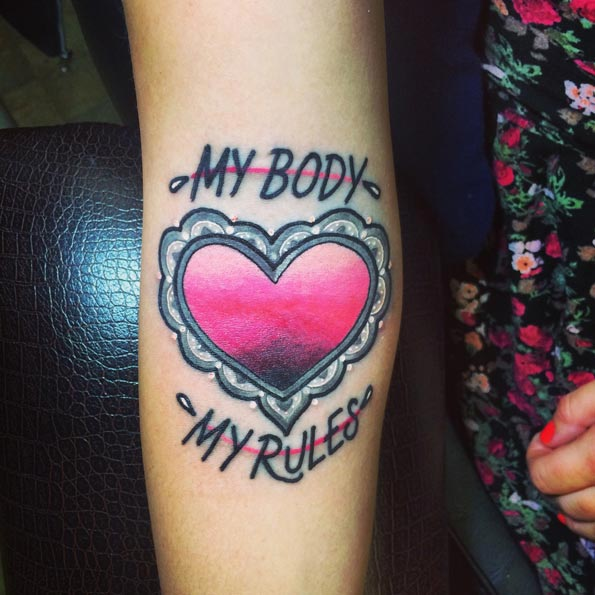 25 Badass Feminist Tattoos To Remind You The Girl Power