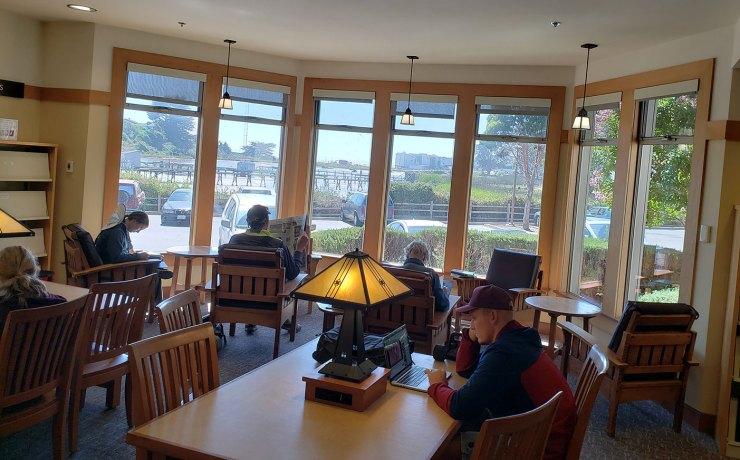 The Reading Room, Live Oaks Public Library, Santa Cruz California