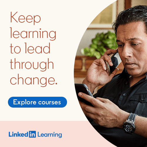 Linkedin Learning -> OCT 31 2020