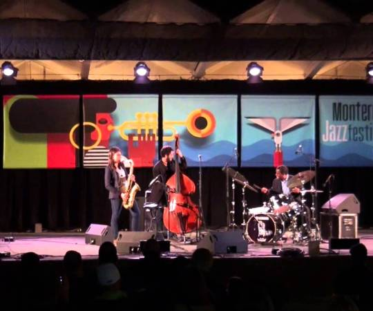 Melissa Aldana & Crash Trio at Monterey Jazz Fest