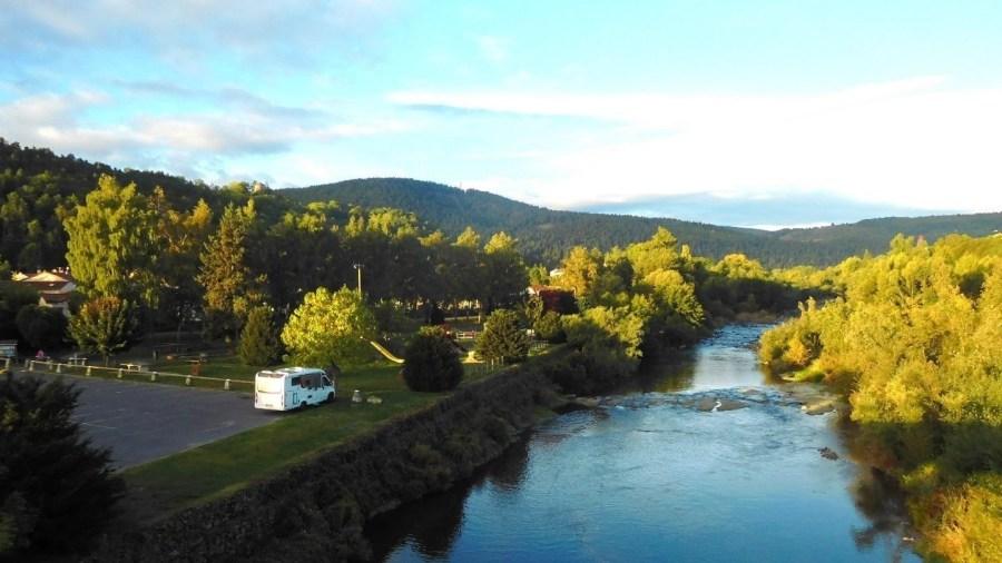 In Coubon, Auvergne, Frankreich