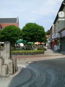 verkehrsberuhigte Zone in Löhne