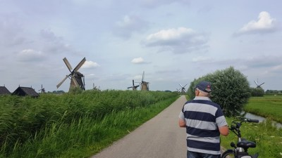 Weltkulturerbe: Mühlen von Kinderdijk