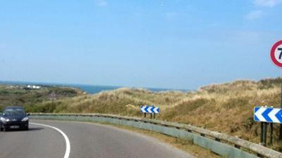 Unterwegs auf der Küstenstraße