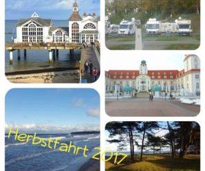 Herbstfahrt durch den Nordosten Deutschlands und entlang der Ostsee