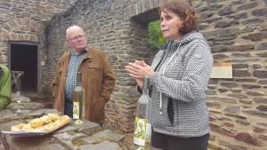 Infos über Weinanbau und Villa Rustica