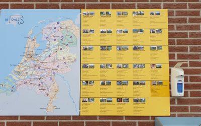 """Bij ons"" Wohnmobilstellplätze in den Niederlanden"