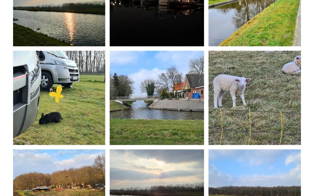 Tour durch die nördlichen Niederlande im März  2021