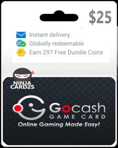 GoCash Game Card $25