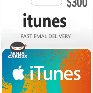 iTunes Gift Card $300