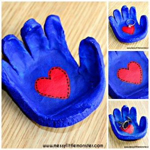 hand shaped bowl craft