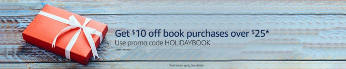 Amazon book sale coupon