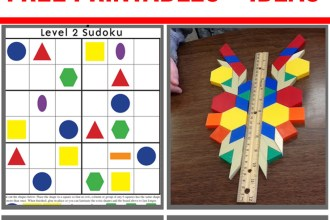 Pattern blocks make math fun for kids!