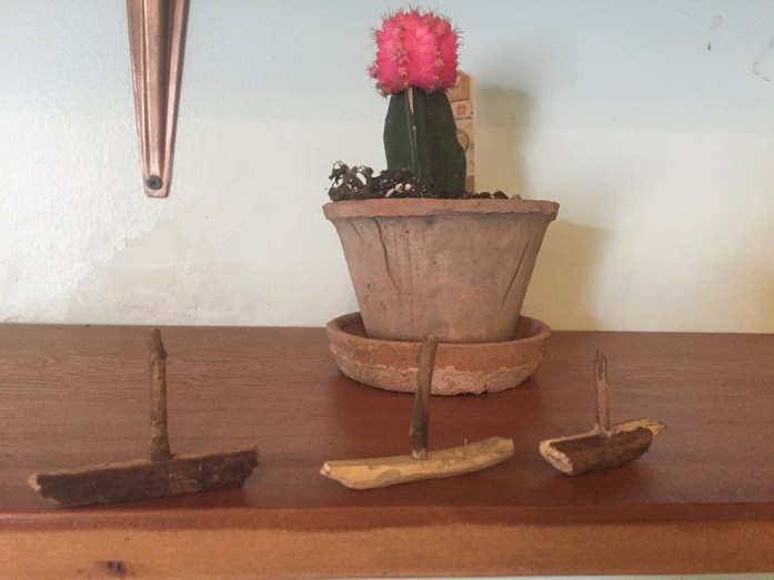 Handicraft project - whittling boats