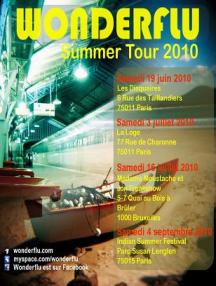 Flyer Summer Tour