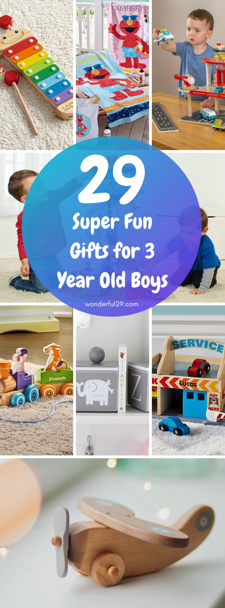 Gifts for 3 Years Old Boys