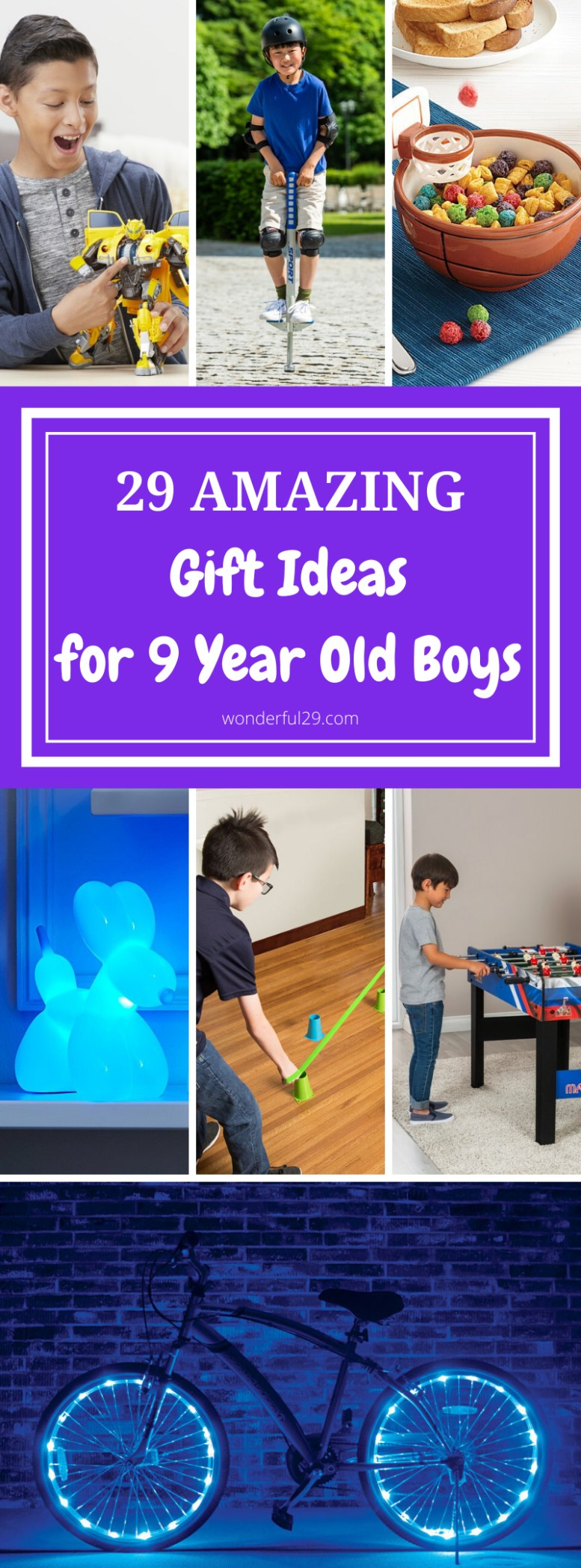 Gifts for 9 Years Old Boys