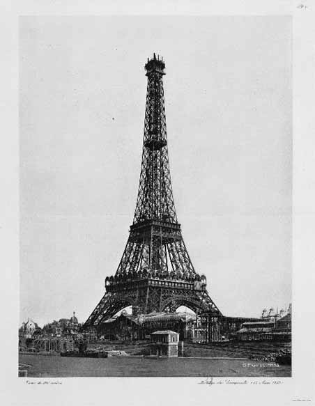 Eiffel Tower - after completion