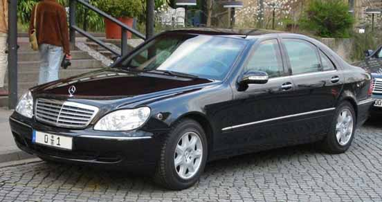 President Car Germany - Mercedes Benz s600 and 300