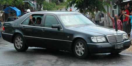 President Car Indonesia - Mercedes-Benz-w140