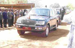President Car Malavi - Toyota Land Cruiser