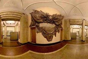 Art in Moscow Metro Subway
